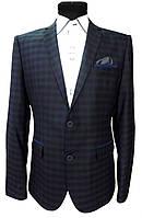 Мужской пиджак приталенный № 47/5 - 2200, фото 1