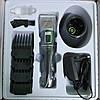 Аккумуляторная машинка для стрижки волос Promotec PM-362 с 4 насадками / Беспроводной триммер, фото 8