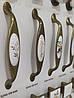 Ручка меблева Ozkardesler 5354-08/40 кераміка 128мм MONA PORSELEN Бронза Колос, фото 4