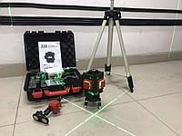 Лазерний рівень (нівелір) LEX LXNL3DG зелений лазер + тринога 1,5м, дистанційний пульт керування