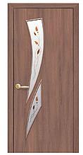 Камея-Р1 Ольха 3d (60, 70, 80, 90см). Коллекция Модерн. Межкомнатные двери МДФ Новый Стиль