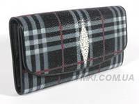 Женский кошелёк из натуральной кожи ската Quarro (WT-168)