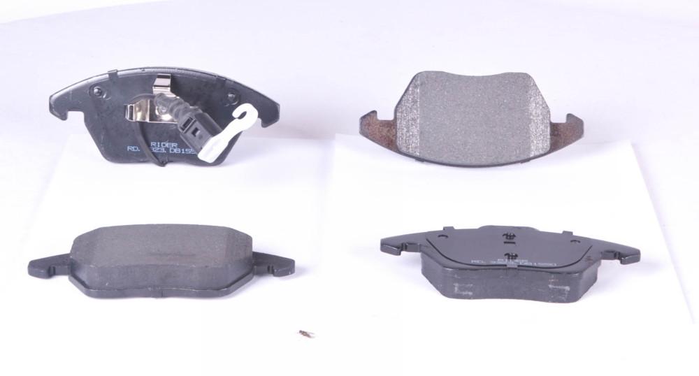 Колодка тормозная дисковая Volkswagen PASSAT, CADDY, OCTAVIA 05- передняя (RIDER) (арт. RD.3323.DB1550), rqc1