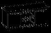 Тумба мобильная помощник  Evolution МДФ 25\605 (1200х440х575)