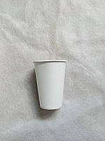 Стакан бумажный белый 330 мл Кард Гласс 50 штук