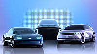 Ioniq –так тепер називатимуться усі електрокари Hyundai