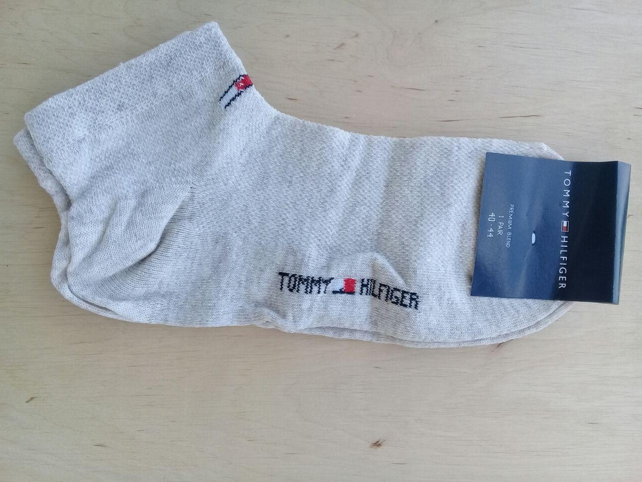 Носки мужские спортивные короткие сетка серые  размер 40-44