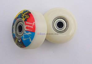 Колеса для скейтборда Jump PU 100 Белое (2T7032) 4 шт