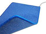 Коврик с подогревом 830мм х 530 мм (синий) Солрей, фото 2