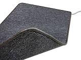 Килимок з підігрівом 830мм х 530 мм (сірий) Солрей, фото 4