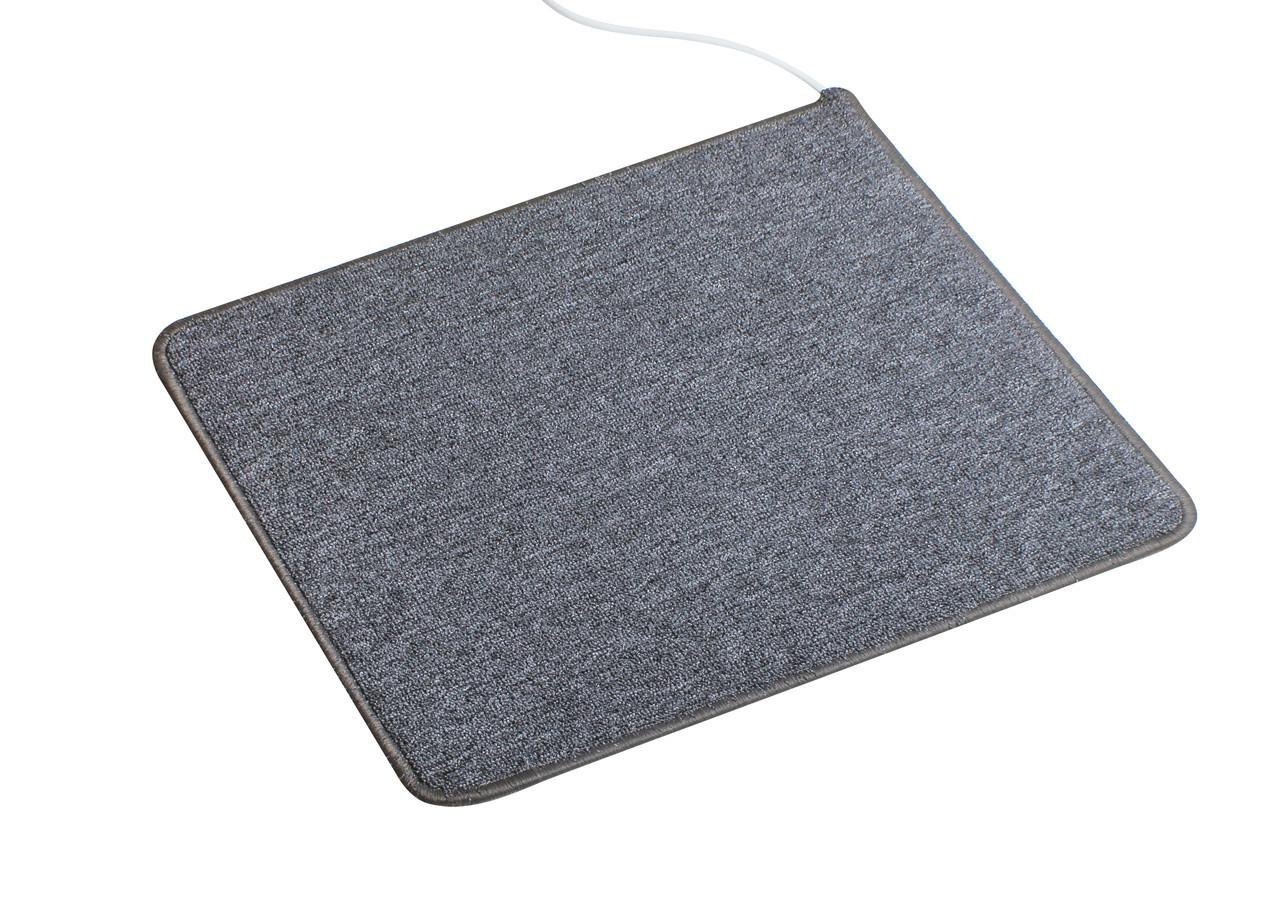 Теплий килимок Solray 830*630 мм (Сірий)