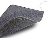 Теплий килимок Solray 830*630 мм (Сірий), фото 2
