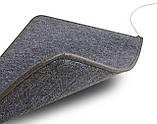 Теплий килимок Solray 830*630 мм (Сірий), фото 5