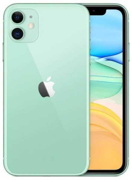 Смартфон Apple iPhone 11 DUAL 64GB Green