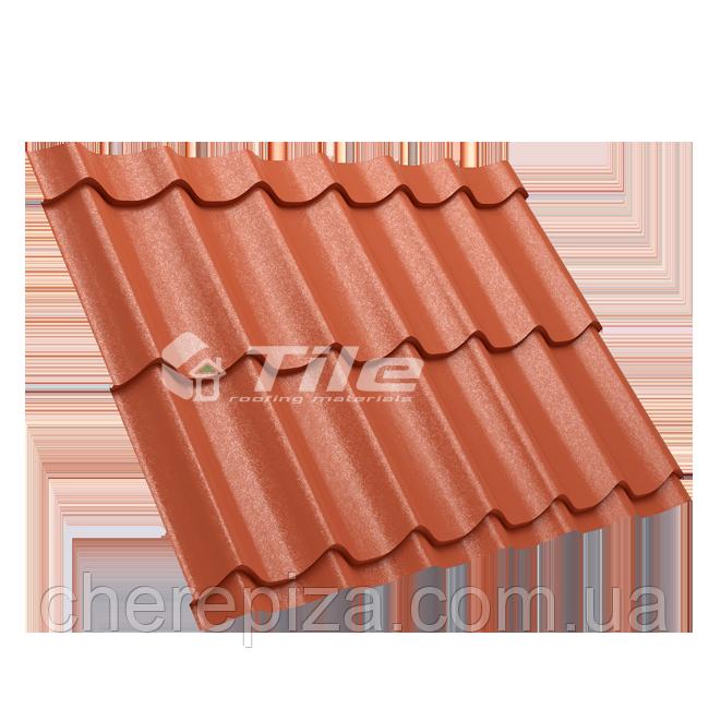 Металлочерепица Классика плюс 350/20 8004 мат 0,45 мм U S Steel