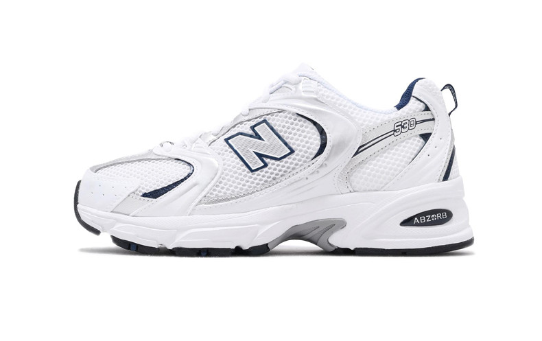 """Чоловічі кросівки New Balance 530 White/Silver"""""""