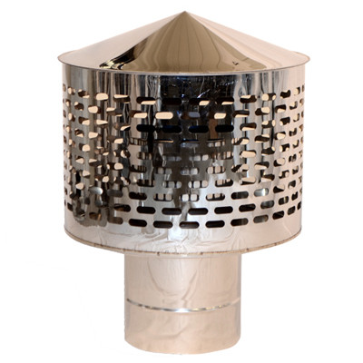 Искрогаситель дымоходный нерж Ø 110 мм