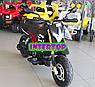 Детский электро-мотоцикл на аккумуляторе Aprilia M 4252EL-2 для детей 3-8 лет с мягкими EVA колесами черный, фото 9