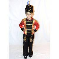 """Детский маскарадный костюм """"Гусара, оловянного солдатика, Щелкунчика"""""""
