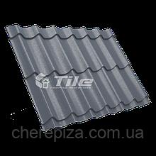 Металлочерепица Классика плюс 350/20 7016 мат 0,45 мм U S Steel