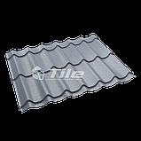 Металлочерепица Классика плюс 350/20 7016 мат 0,45 мм U S Steel, фото 2