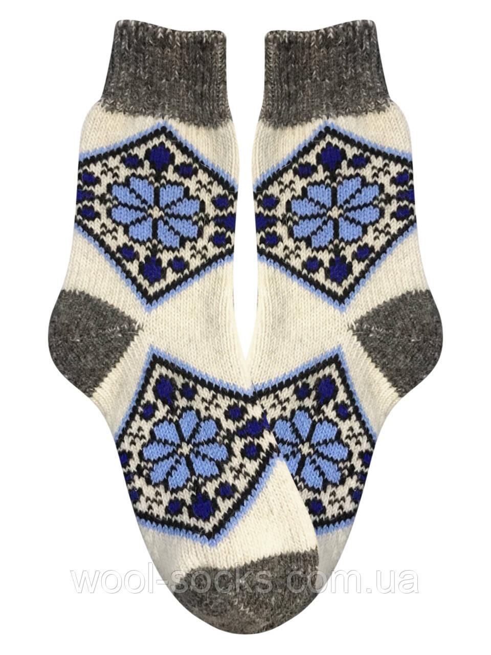 Носки из овчины женские