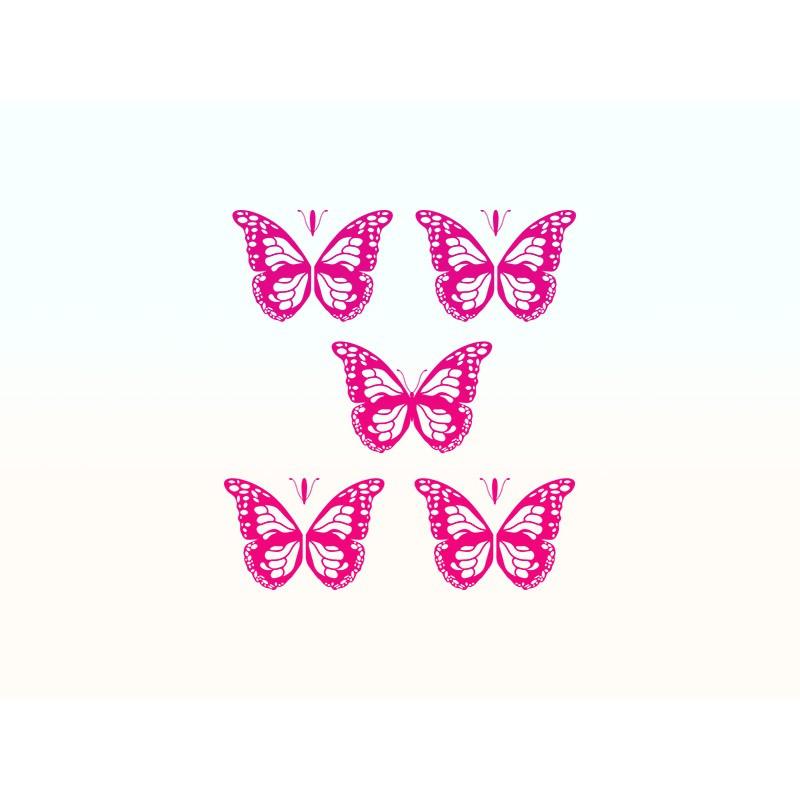 """Наліпка """"Метелики"""" / Виниловая наклейка """"Бабочки"""""""