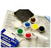 Кожаный комплект для ремонта винила Leather Vinyl Repair Kit., фото 1