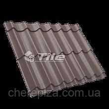 Металлочерепица Классика плюс 350/20 8017 мат 0,45 мм U S Steel