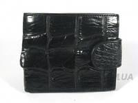 Мужской кошелек из кожи крокодила RIVER (ALM 96 B Black-2), фото 1