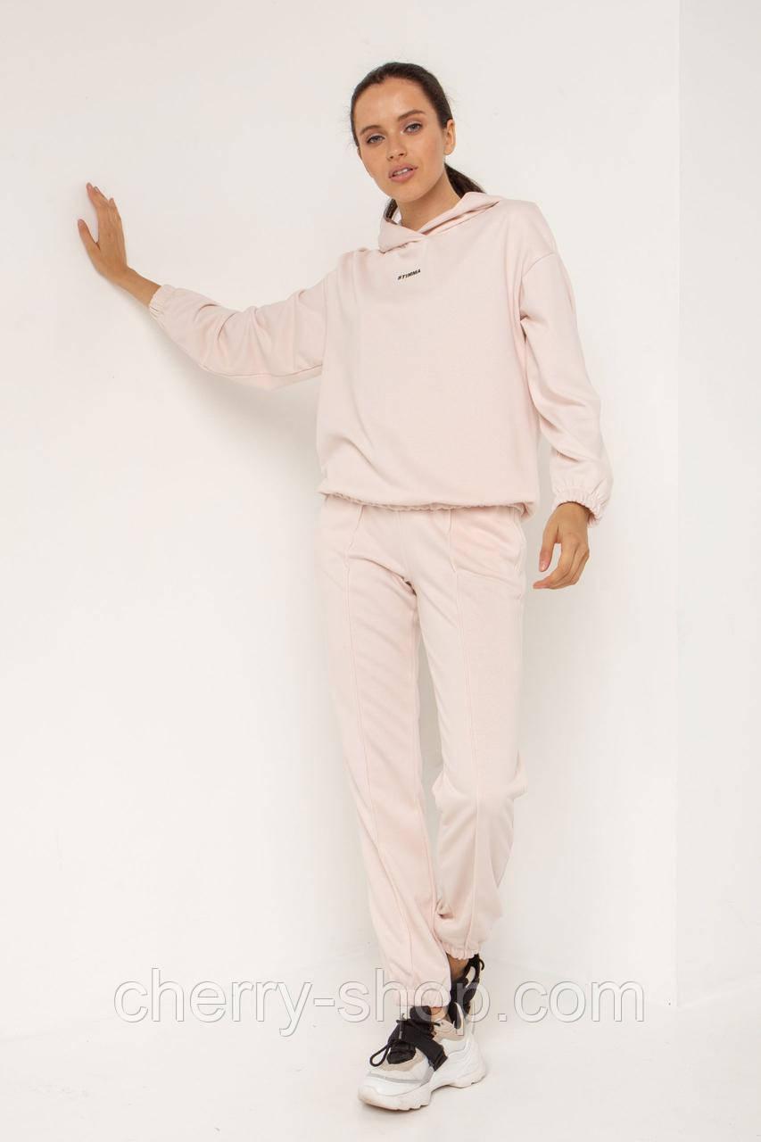 Нежный спортивный костюм женский в размере XS, S, M