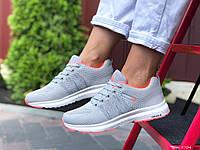 Женские,подростковые кроссовки Adidas Neo,серые,текстиль