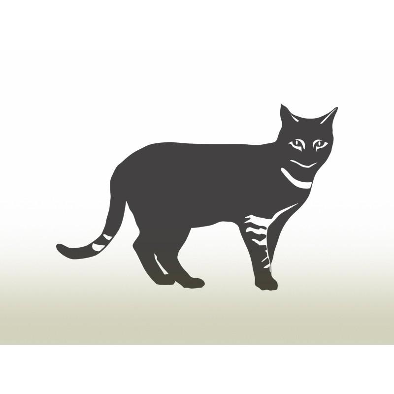 """Наліпка """"Кішка"""" / Виниловая наклейка """"Кошка"""""""