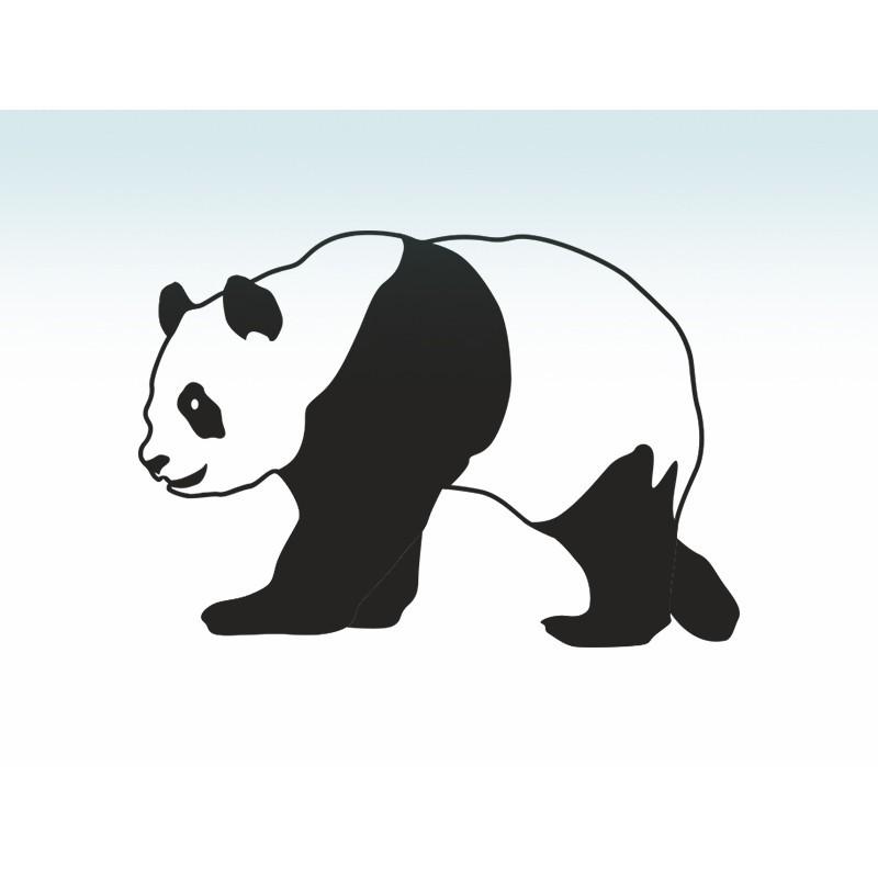"""Наліпка """"Панда"""" / Виниловая наклейка """"Панда"""""""