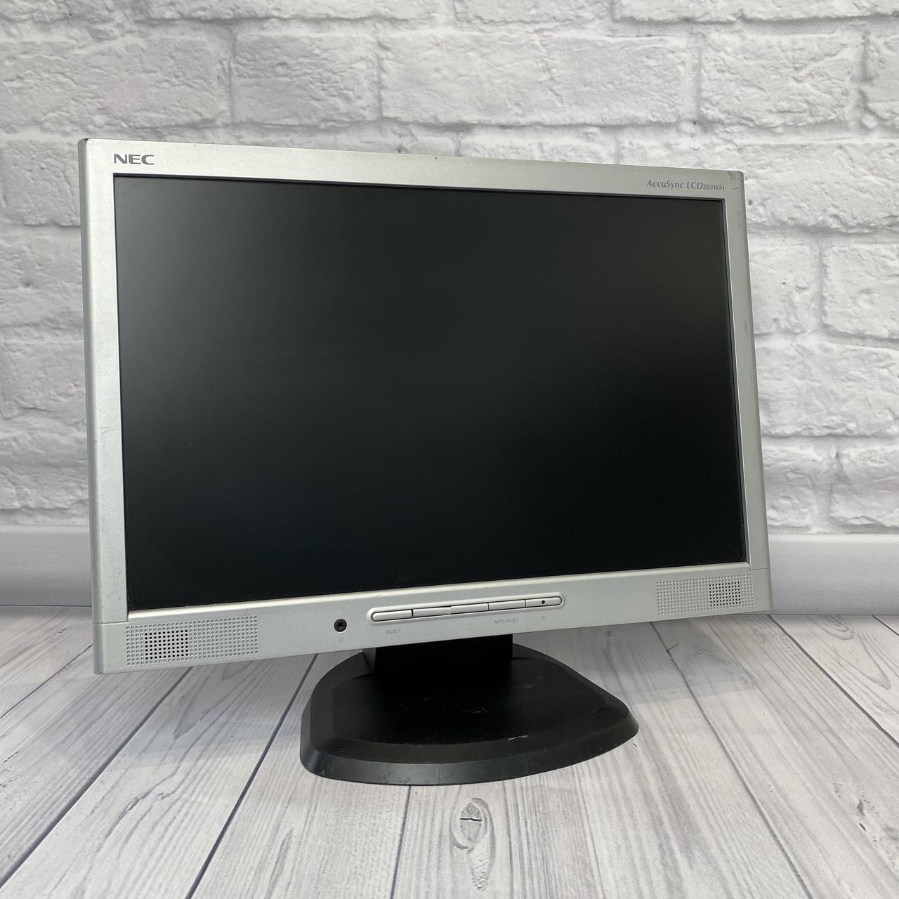 Монитор NEC 20 LED (Матрица TN / VGA / Разрешение 1680x1050)