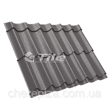 Металлочерепица Классика плюс 350/20 8019 мат 0,45 мм U S Steel