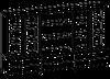 Шкафная группа средний Evolution МДФ 25\706 (2400х500х1700)