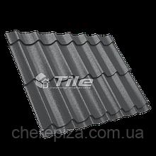 Металлочерепица Классика плюс 350/20 9005 мат 0,45 мм U S Steel