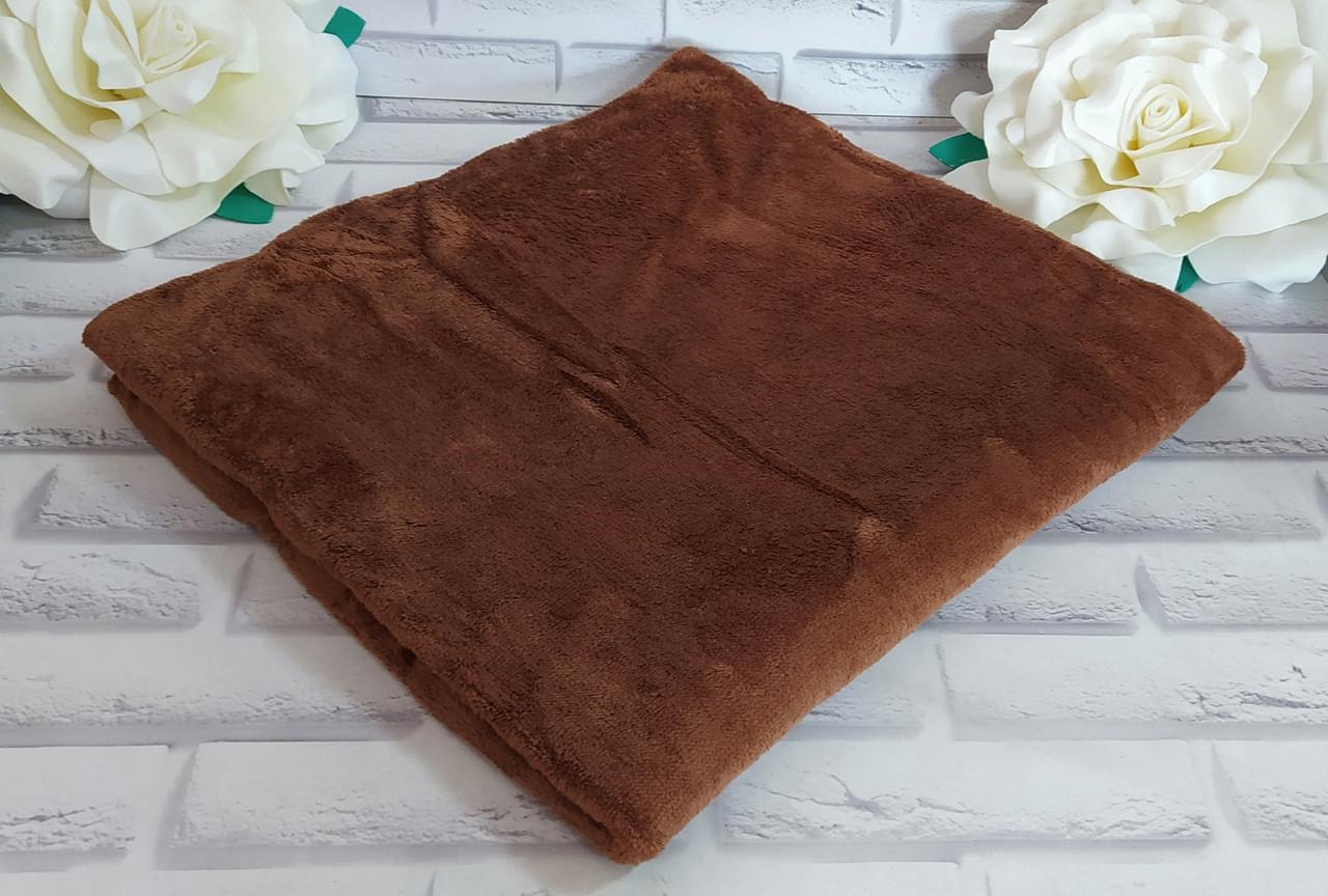 Мягкий плед покрывало микрофибра в подарочной упаковке евро 220*220 размер Bayun