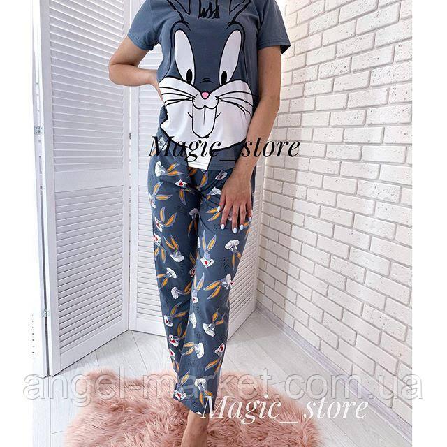 Женская пижама с брюками  Новинка 2020