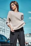 Джемпер женский свободный повседневный (3 цвета, р.XS-M UNI), фото 5