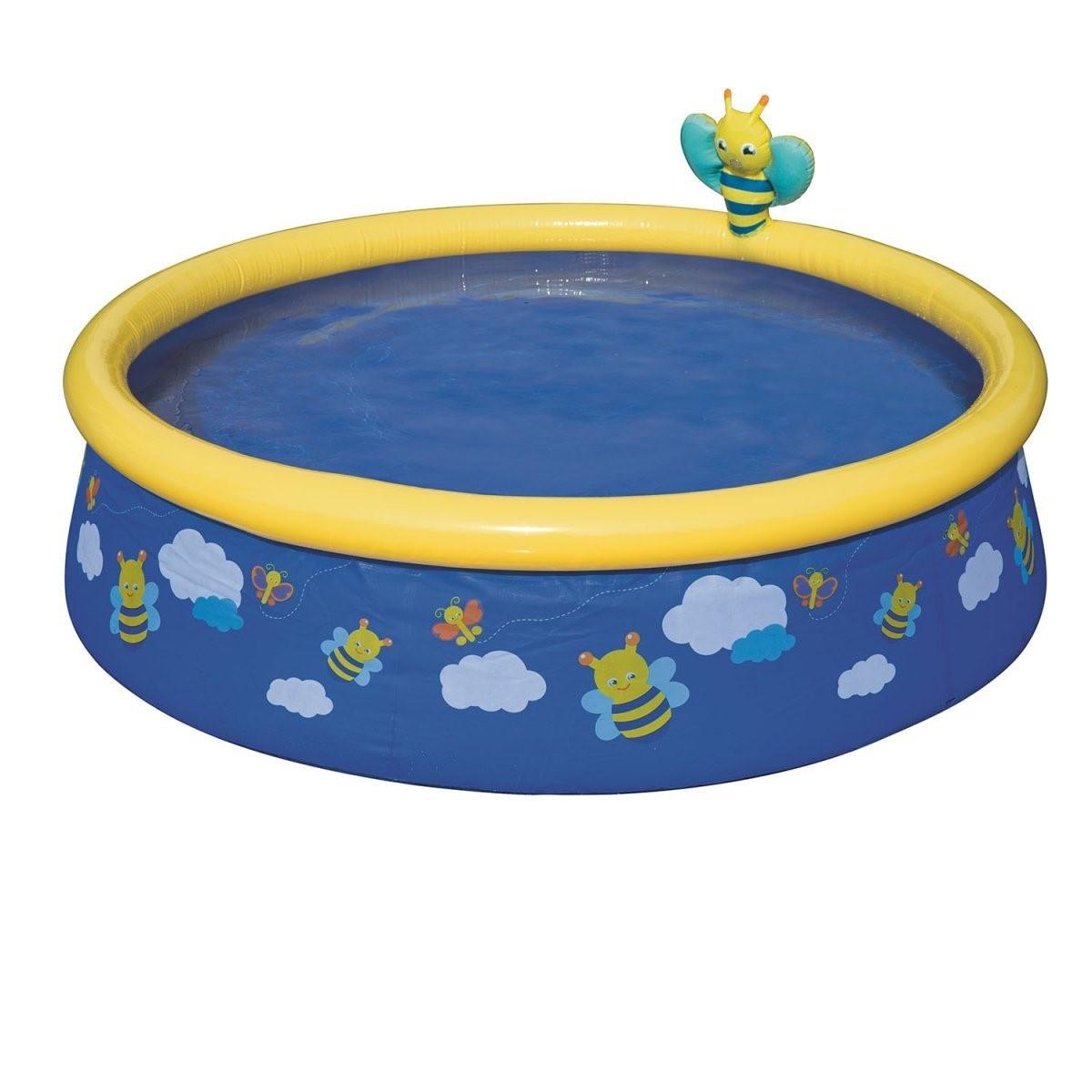 """Детский надувной бассейн Bestway """"Пчелки"""" 152х38, синий"""