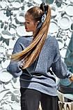 Джемпер женский свободный повседневный (3 цвета, р.XS-M UNI), фото 10
