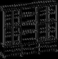 Шкафная группа высокая Evolution МДФ 25\709 (2400х500х2092)