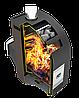 Дровяная печь для бани и сауны Теплодар Лагуна 22 ТК с ГЛП, фото 3