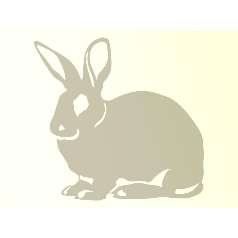"""Наліпка """"Кролик"""" / Виниловая наклейка """"Кролик"""""""