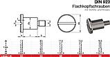 DIN 923 : нержавеющий винт ступенчатый установочный, фото 2