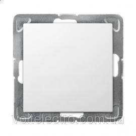 Выключатель одинарный OSPEL IMPRESJA ŁP-1Y/m/00 250V/16A  белый