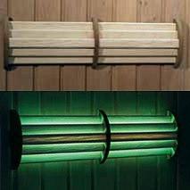Світильник LED 54 світлодіодний кольоровий з пультом ДУ для лазні та сауни