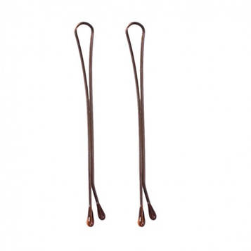 Eurostil Невидимки коричневые, 50мм 200г